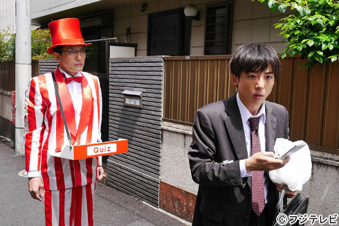 松重豊さんと高橋一生さんダブル主演の「クイズのおっさん」