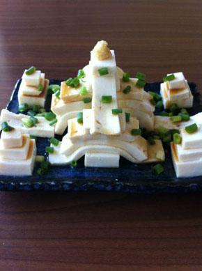 豆腐アート1