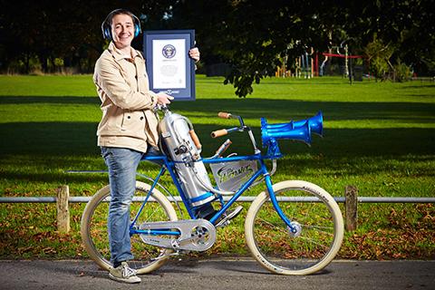世界で一番うるさい自転車用の警笛