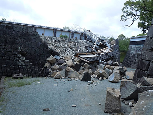 熊本城再建募金