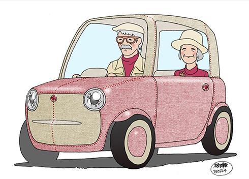 こんなかわいい車見たことない ウレタン外装のコンパクトカーrimono