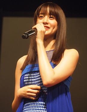 映画「貞子vs伽椰子」完成記念イベントの山本美月さん