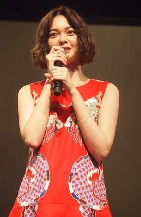 映画「貞子vs伽椰子」完成記念イベントの玉城ティナさん