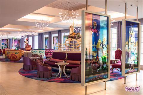 東京ディズニーセレブレーションホテル:ウィッシュ ロビー