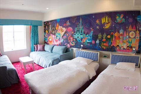 東京ディズニーセレブレーションホテル:ウィッシュ 内装