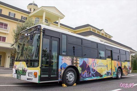 東京ディズニーセレブレーションホテル:ウィッシュ シャトルバス
