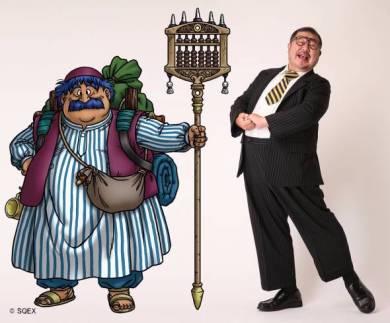 「ドラゴンクエスト ライブスペクタクルツアー」の一部公演では商人トルネコを演じる