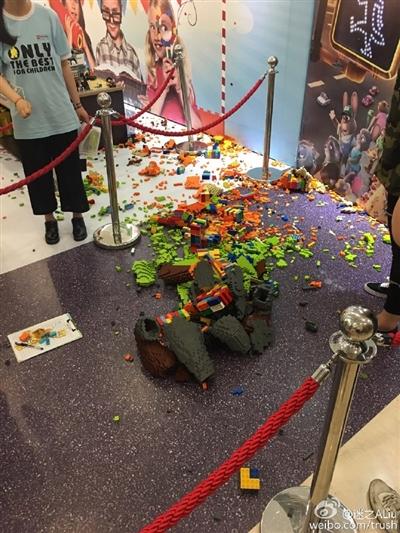 「ズートピア」ニック像が4歳児に破壊される