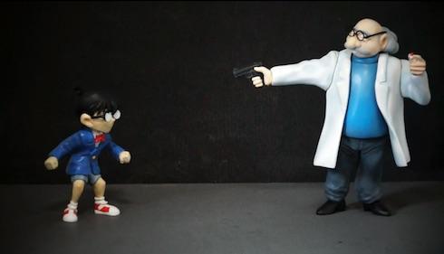 ついにコナンと阿笠博士の決着の時
