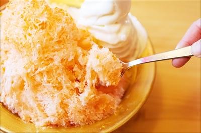 コメダ珈琲店かき氷