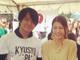 スザンヌ、熊本の被災地でGLAY・TERUとともに炊き出し 「感謝と感動でいっぱいです」