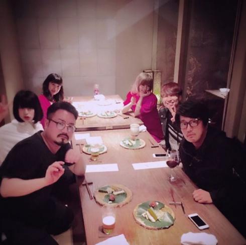 きゃりーぱみゅぱみゅTwitter食事会