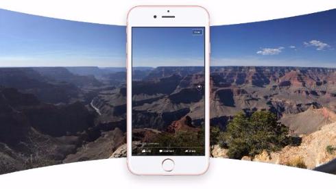 Facebook 360写真