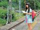 """鉄道への""""あい""""が止まらないエビ中・廣田あいか、「JTB時刻表」をジャック"""