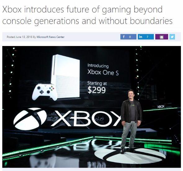 Xbox One S Project Scorpio