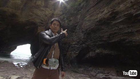 沢村さん、変身ポーズも様になってます