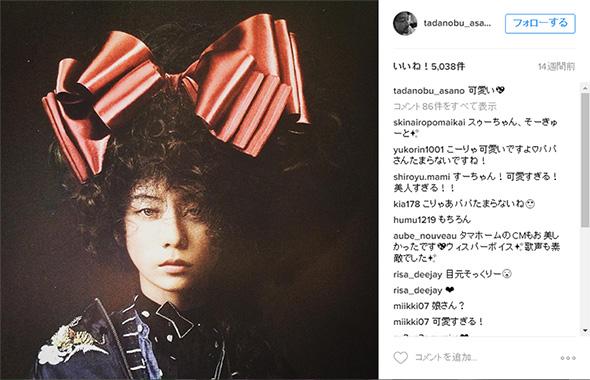 3月にもSUMIREさんをかわいがる1枚を投稿していた浅野さん