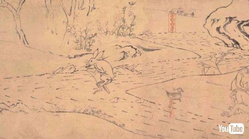ジブリ 丸紅新電力 鳥獣戯画