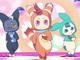 劇場アニメ「ポッピンQ」、ポッピン族のキレッキレダンスがきゃわわ