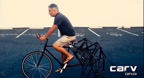 歩く自転車