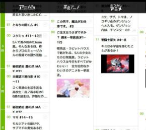AbemaTV、7月9日の番組表