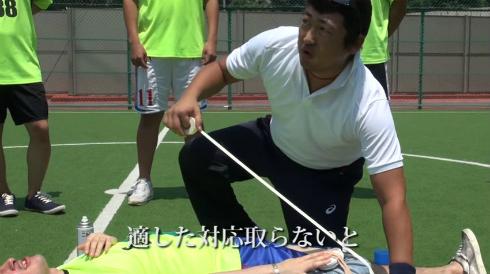 秋山さん演じるメディカルチームドクター・横田涼一