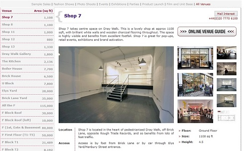 The Old Truman Brewery Shop 7