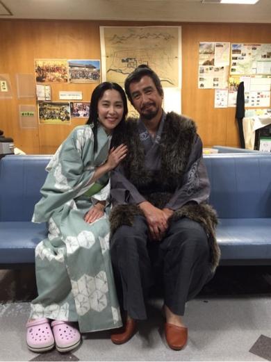 草刈正雄さんと木村佳乃さん
