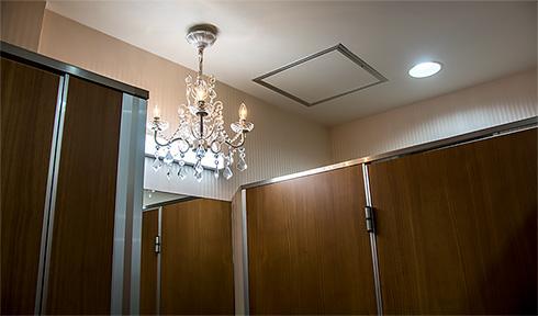 アニメイトAKIBAガールズステーション5階トイレ