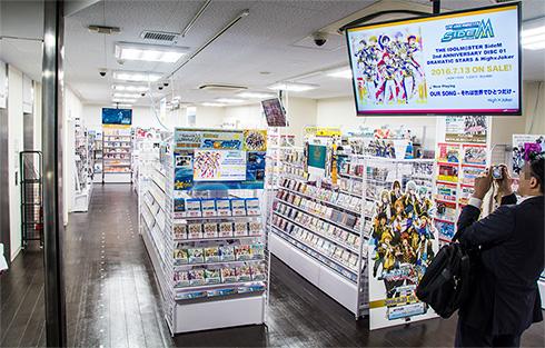 アニメイトAKIBAガールズステーション4階フロア