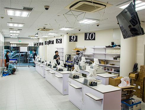 アニメイトAKIBAガールズステーション1階フロア