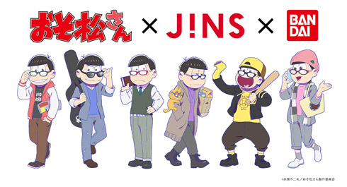 JINS PAINT ジンズ ペイント おそ松さん 描き下ろし