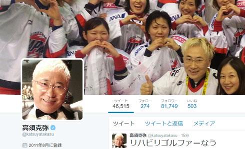 高須克弥 Twitter