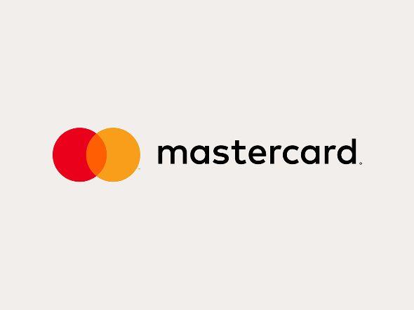 マスターカードのロゴがシンプルに