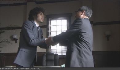 万博実現の経緯を再現ドラマで(番組公式サイトより)