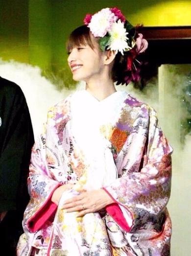 ゴマキ 結婚式
