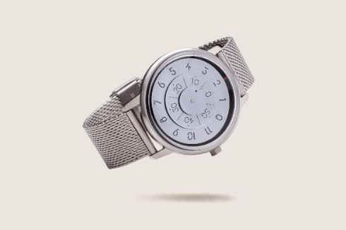 ケプラーの軌道を描く腕時計