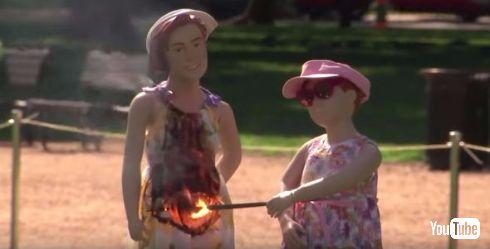 CPSCが花火の安全を訴える動画