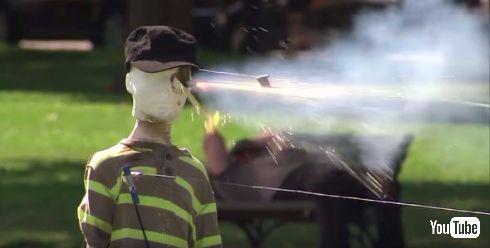 CPSCの花火の安全についてのデモ動画