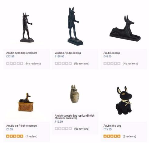 アヌビス 犬 ぬいぐるみ 大英博物館