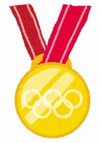 金メダル切手
