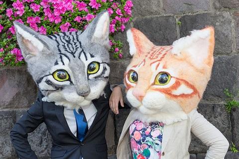 リアル猫ヘッド