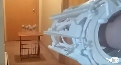 輪ゴムガトリングガン
