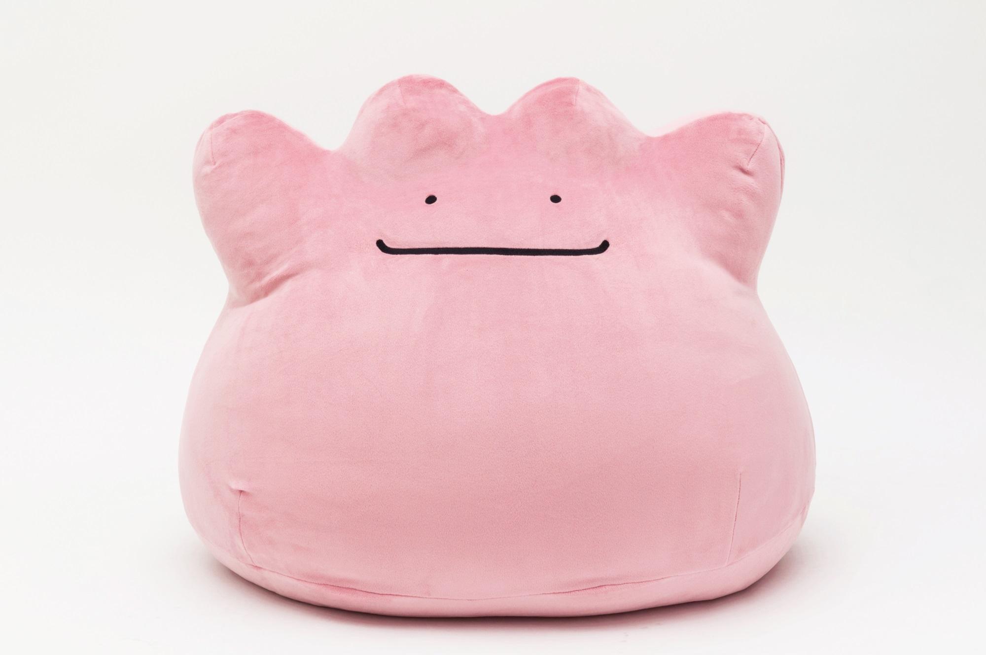 飛び込みたい笑顔 メタモンの「超ビッグサイズもっちりぬいぐるみ」が