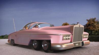 レディ・ペネロープの愛車FAB-1号
