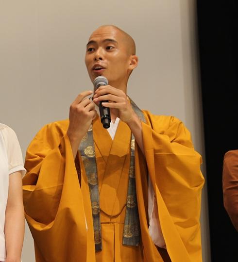劇場版仮面ライダーゴースト舞台あいさつの柳喬之さん