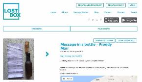 イギリスのwebサイトLostbox