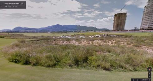 リオ五輪 カピバラ ゴルフコース