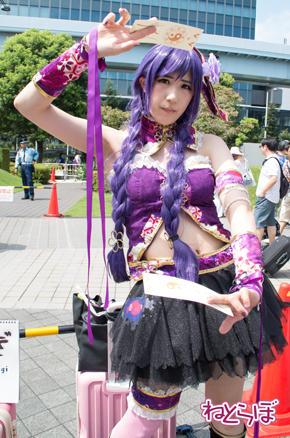 コミックマーケット コミケ 90 コスプレ ラブライブ 東條希