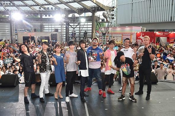 テレビ朝日 「テレビ朝日・六本木ヒルズ 夏祭り SUMMER STATION」湘南乃風ライブ
